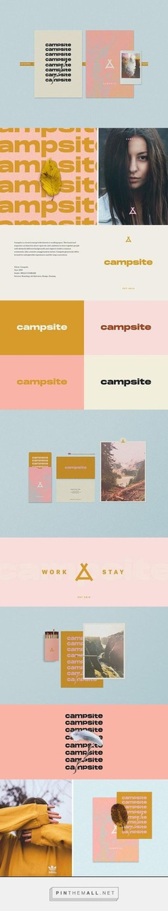 Campsite branding