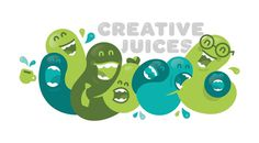 Creative Juices by James Graves #inspiration #design #illustration #liquid #character