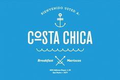 Costa Chica - SAVVY #branding #symbol #identity #logo #typography