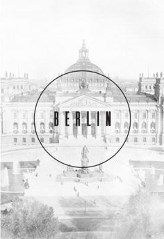 DISINTEGRATION. #type #background #berlin #faded