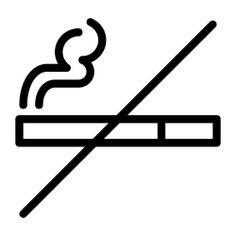 See more icon inspiration related to smoke, no smoking, cigarette, forbidden, prohibition, signaling, unhealthy, holidays and signs on Flaticon.