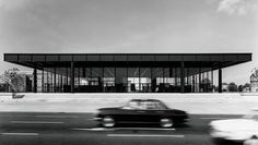 Neue Nationalgalerie, Mies van der Rohe