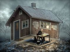 optical-illusions-photo-manipulation-surreal-eric-johansson-1 #cgi #optical #illusion #photoshop