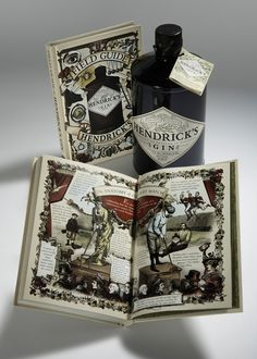 Hendrick's Gin Field Guide, Volume II #gin #field #hendricks #guide