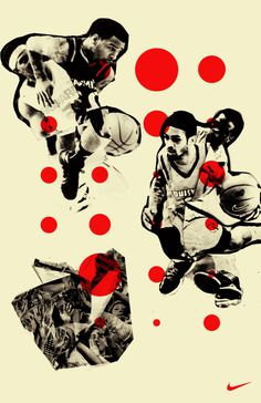 Nike March Madness on Behance #baskettball #hort #design #graphic #not #nike #poster #typography
