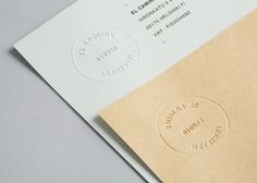 FFFFOUND! | Tsto – SI Special | September Industry #logo #embossing #studio #branding
