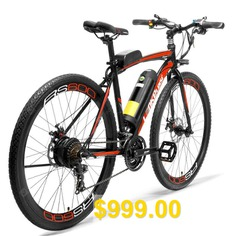 LANKELEISI #RS600 #700C #Pedal #Assist #Electric #Bike #36V15Ah #Battery #300W # #Road #Bicycle
