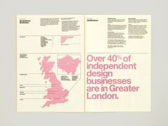 newsprint, infographics #newsprint #pink #info #graphics #typography