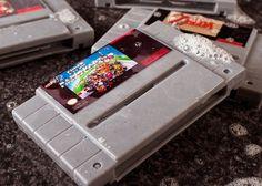 Super Nintendo Gamer Soap Cartridges #gadget #gamer #soap #geek