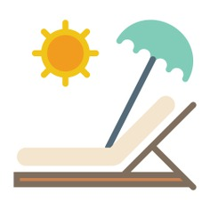 See more icon inspiration related to beach, summer, holidays, vacations, Sunbed and sun umbrella on Flaticon.