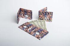 Paperwallet Serie 2 #paperwallet #pattern #paper #wallet