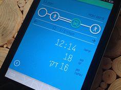 Tatz - Public transport app #icon #app #icons #ui