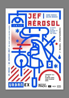 Jef Aérosol | Mural Performance | French Culture Center