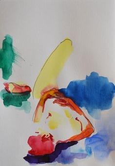 Nude watercolor 0001 - Margarita Felis