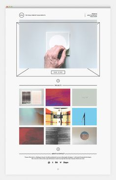 notwo.org #white #showcase #layout #portfolio #black #website #webdesign #minimalist
