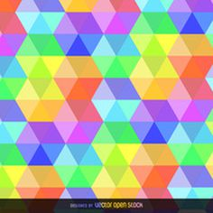 Colorful hexagonal background http://bit.ly/29kzRED