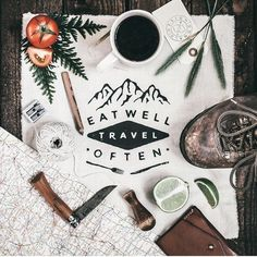 Eat well, Travel often - by Adam Barlow