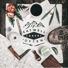 Eat well, Travel often - by Adam Barlow