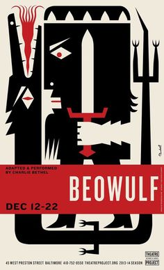 The Stagecraft Behind Theater Posters - Print Magazine