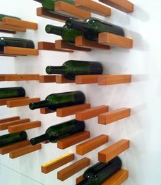 Design*Sponge #rack #interiors #wine