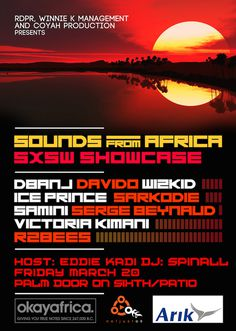 sounds-from-africa #art #poster