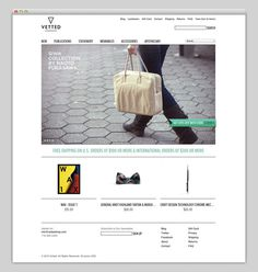 Vetted #site #shop #design #website #store #layout #web