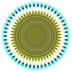 Más tamaños | bicentenario | Flickr: ¡Intercambio de fotos! #optical #pattern #cyan #yellow #rounded #circle