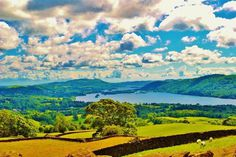 https://www.facebook.com/DavidWalbyPhotography #wallb #meadows #uk #district #scenery #lake #fields #colour