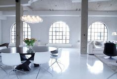 CJWHO ™ (Chic Montreal Penthouse by Julie Charbonneau) #montreal #design #interiors #photography #penthouse