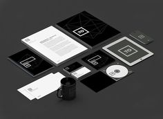 kreujemy.to Brand Identity #identity #white #black #and