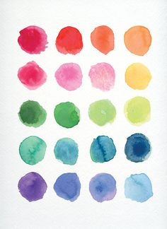 FREE Watercolor textures on Behance #paint #color #water #rainbow #watercolor