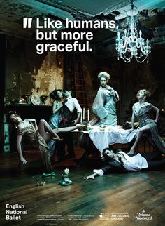 Creative Review ENB says it with Aktiv Grotesk #ballet #advertising
