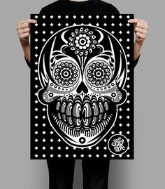 METODO DE DIBUJO MEXICANO... on Behance #mexicano #dibujo #white #vectors #draw #sadik #mexico #freestyle #guanajuato #black #mexican #metodo #and #skull #style