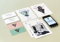 V Management on Branding Served #identity #stationery