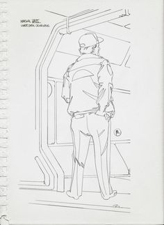 Alien Isolation: Mike Tanaka Sketch