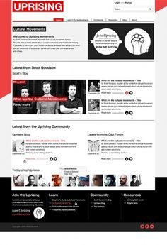 UPRISING - DarrylDonnelly.co.uk - Digital Designer. Freelance Digital Designer. Digital Creative. Web Designer Norwich. #website #site #clean