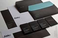 Generation Press » Filthy Media #stationery #identity #branding #typography
