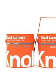 Knoll Paint Cans by Kristín Agnarsdóttir #packaging