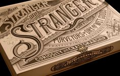 Packaging, Typography