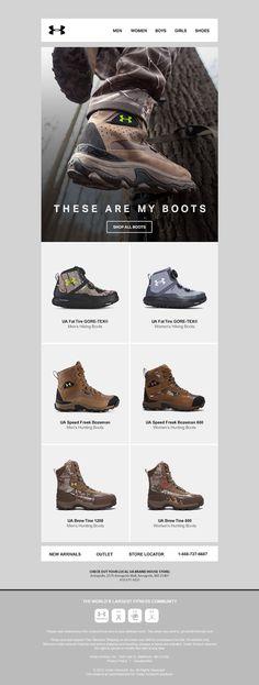 UA Boots Email by Matt Hodin