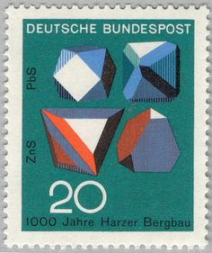 54 #stamp #illustration #german
