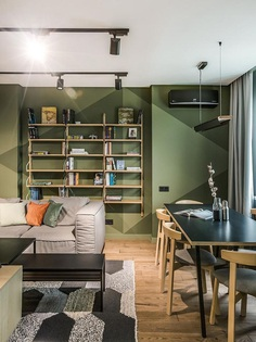 Charming 86 Sqm Apartment in Kiev Designed for a Cinema Fan 6