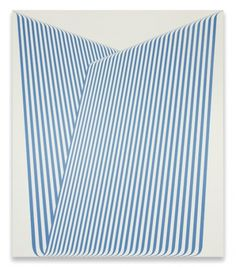 KUTTNER SIEBERT Galerie| Terry Haggerty | Abbildungen #abstract #pattern #lines #graphic #painting #blue