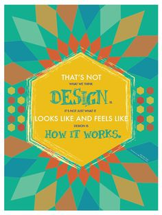 Typographic quotes - 3 poster series on Behance #quotes #color #poster #typography