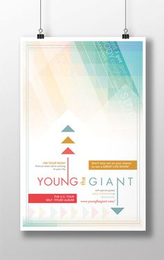 Young the Giant - concert poster #poster #posterdesign #gigposter