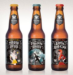 Grimm Brothers #packaging #beer #bottles #label