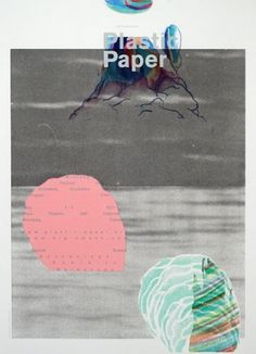 Plastic Paper — Sonnenzimmer #design #graphic #poster #plastic #paper #typography