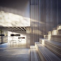 Peter Guthrie's Kilburn Vale Visualizations - Ronen Bekerman 3d architectural visualization blog #interior #timber #sketchup #architecture #visualization #stairs