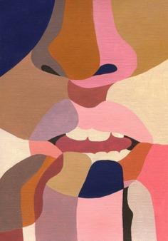 i corpi segmentati nelle illustrazioni di Ines Longevial