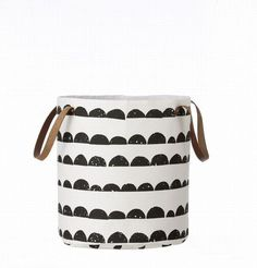 Basket Half Moon #print #basket